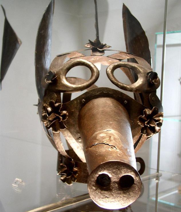 Kauna maskanbspKauna maskas... Autors: sancisj Creepy maskas no pagātnes