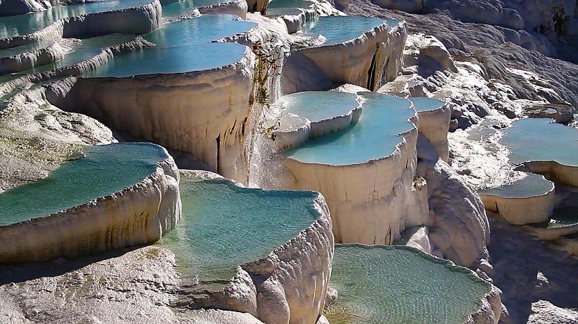 Pamukkale karstie avoti... Autors: im mad cuz u bad Elpu aizraujošas vietas uz Zemes