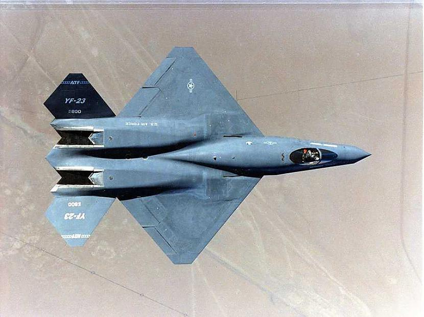 nbsp nbspBet iespējams ka... Autors: Mao Meow YF-23 – Neredzamā lidmašīna!