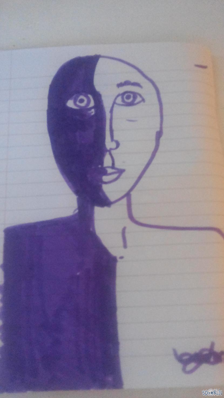 Scaronitais darbs ir zīmēts ar... Autors: rakstiins Ko es daru stundās