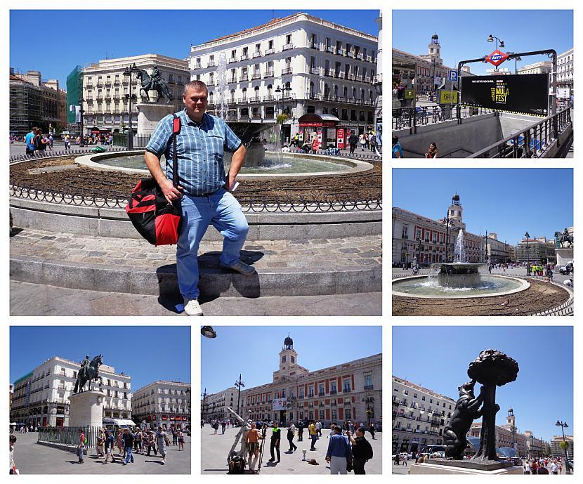 Ilgstoscaronu laiku galvenā... Autors: Pēteris Vēciņš Vecā labā Madride. Spānijas citadele Madride 1. daļa.