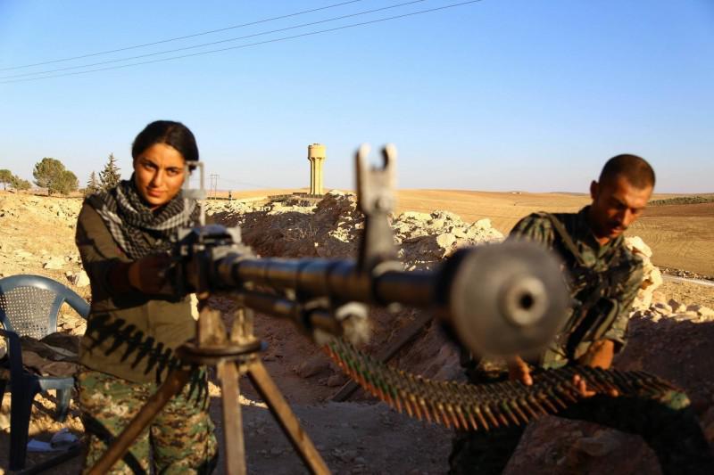 Kurdi runā par pāris simtiem... Autors: Raziels Sīrija, Krievija ISIS un bēgļi