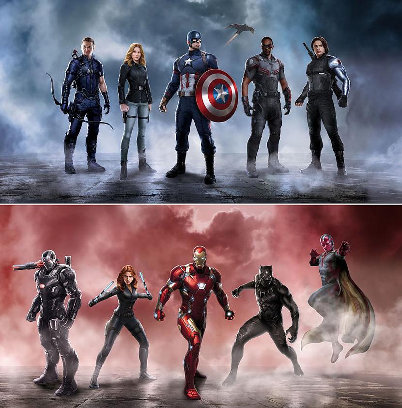 Captain America Civil War2016... Autors: wurry Supervaroņu filmas 2016