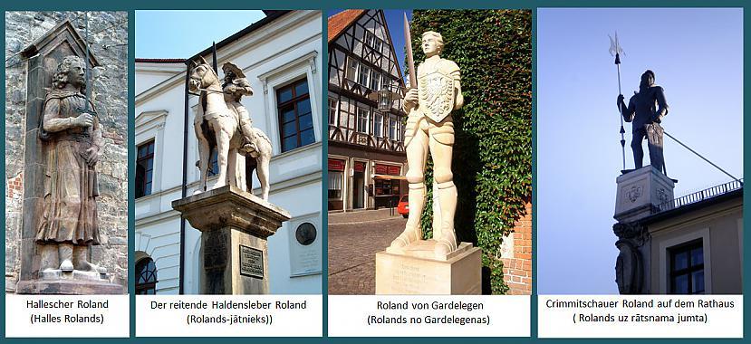 Vācijas Rolandi tik dažādi ... Autors: rasiks Par Rolandiem