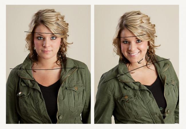 Noliec galvucenties... Autors: rihcaa Neesi fotogēnisks? Lūk daži padomi kā izskatīties labāk,bildējoties !