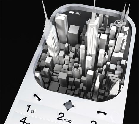 Mobilais tālrunis bez... Autors: Razam4iks 8 interesanti mobilo tālruņu koncepti