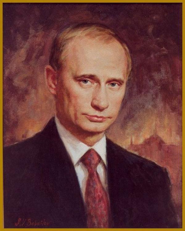 Piekar scarono Putina gleznu... Autors: Razam4iks Dīvainas lietas no interneta
