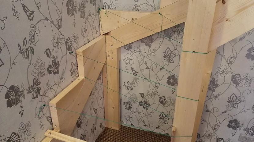 Tā kā man nav rasējuma uz mm ... Autors: I Like to Make Stuff Kā uztaisīt kāpnes 2. daļa