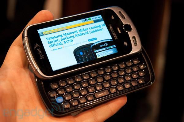 Samsung MomentSamsung Moment... Autors: Fosilija SLIKTĀKIE viedtālruņi pasaulē 2