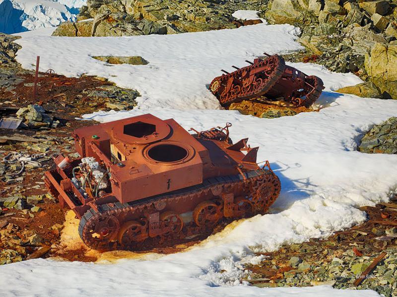Atrascaronanās vieta... Autors: LVspoks Dabas pārņemtie tanki
