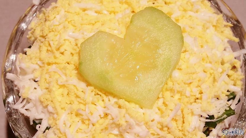 Autors: aniii7 Tunča salāti ar gurķiem.