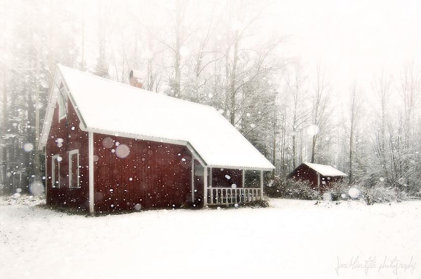 Ziema nbsp Vai cik jauki... Autors: Vinnīts Dzīvoklis vs Māja