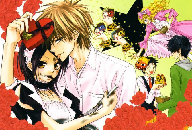 kaichouwa maid... Autors: pichu200 Mans top 20 anime