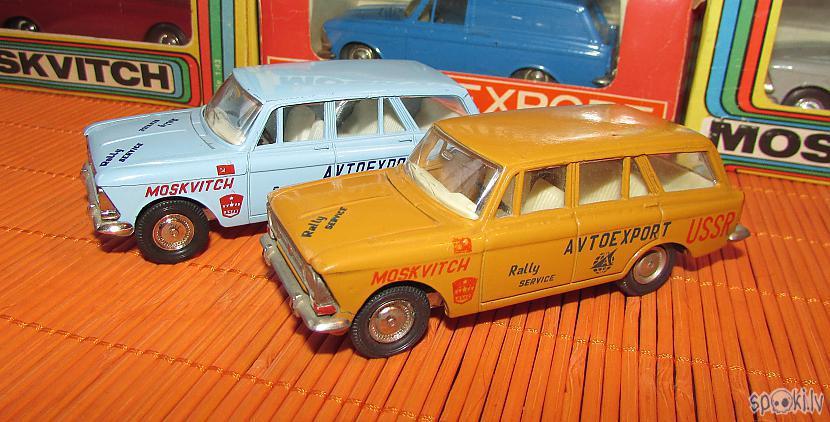 Moskvitchi quotRally... Autors: pyrathe Mani CCCP automodelīši 1/43: kolekcijas papildinājums