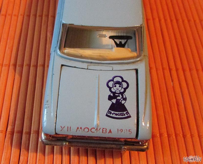 Autors: pyrathe Mani CCCP automodelīši 1/43: kolekcijas papildinājums