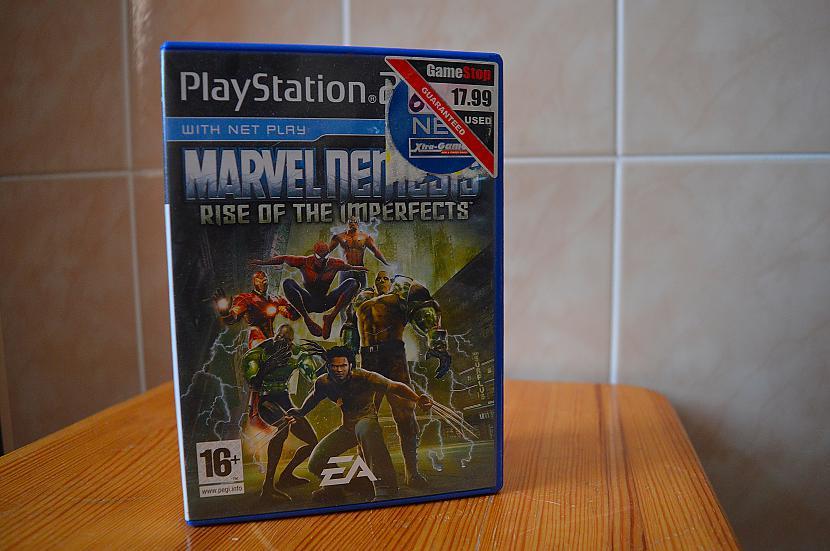 Marvel Nemesis Rise of The... Autors: Hank Moody Mana spēļu kolekcija! PS2