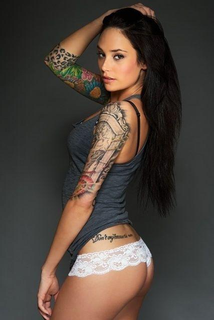 Autors: Hank Moody Tetovējumu māksla uz sieviešu ķermeņa!