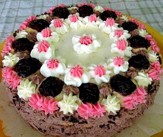 Neliela biskvīta kūciņa Autors: rasiks Dzimšanas dienai (2)
