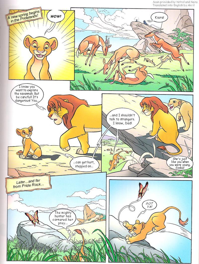 Autors: helenafrinboxlv The lion king 2 : Simbas pride