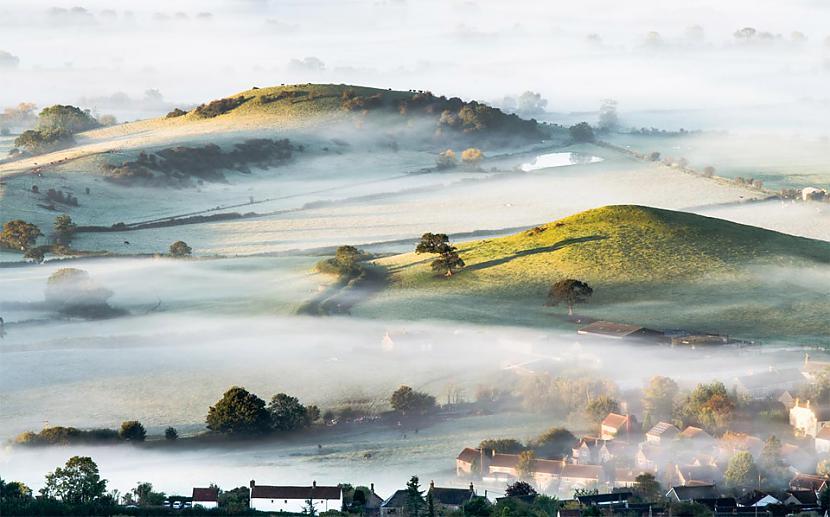 Migla pār Anglijas... Autors: Liver Skaistāko pasaules ciemu fotogrāfijas