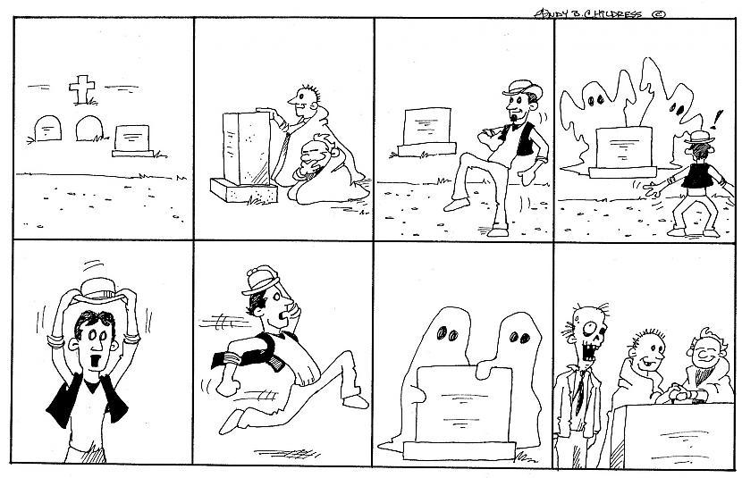 Autors: Spoks no2 Komiksi, ko var saprast bez vārdiem.