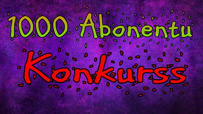 Autors: Jānis Kristians Konkurss!