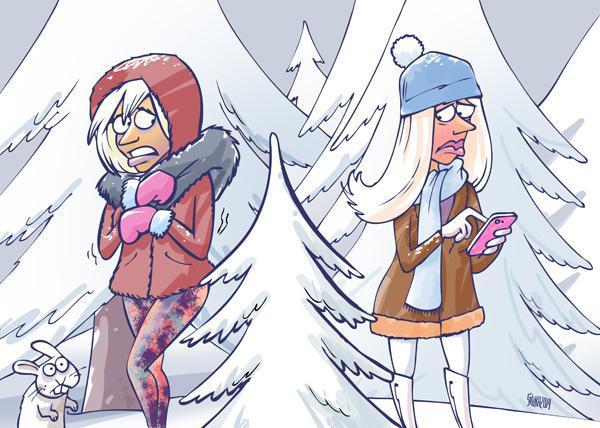 Kāpēc blondīnes baidās no... Autors: korvete Joku mīklas