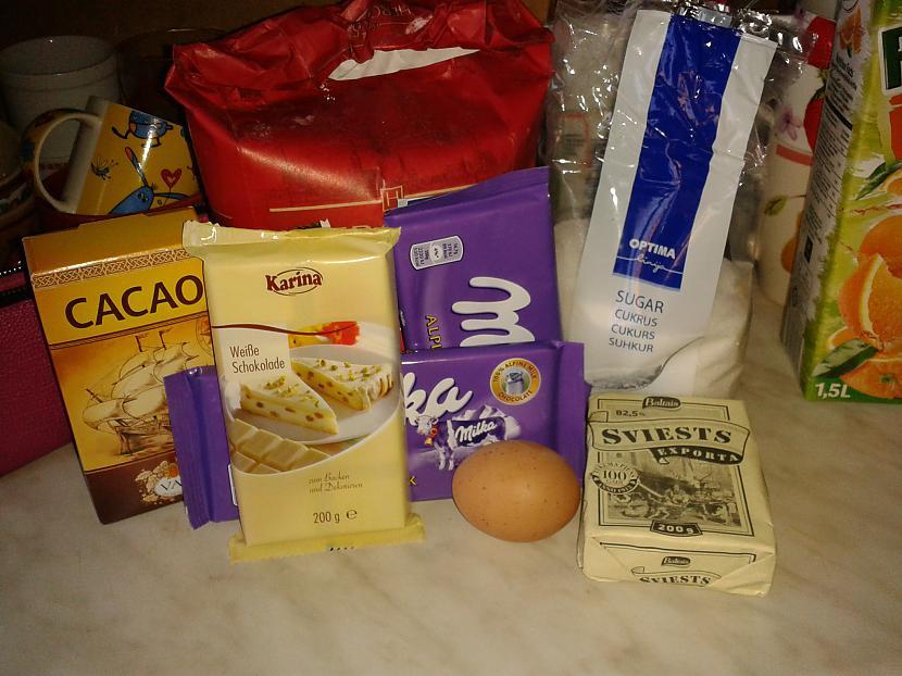 Vajadzīgie produkti200g... Autors: breezy18 Gribi kaut ko ļoti šokolādīgu?