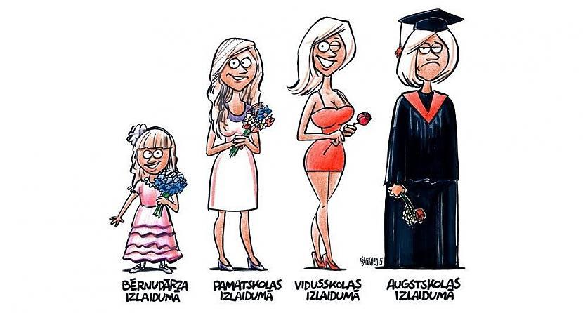 Autors: spoku meitene karikatūras