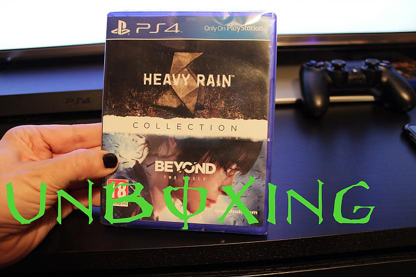 Autors: BleedingXemo Heavy Rain & Beyond Two Souls Collection (RARE game) unboxing