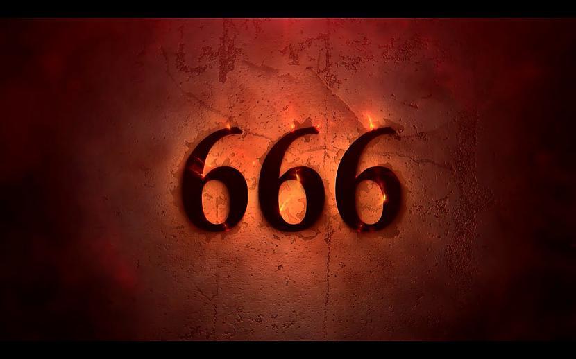 Ķīshymishyķi sashyvushykārt... Autors: weSTqoodbeep Sātana skaitlis jeb 666. Kāpēc?