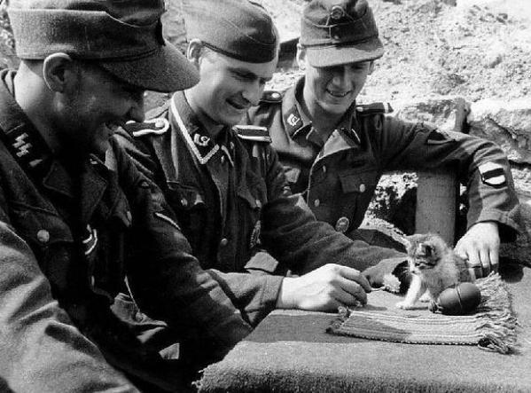 Vācu karavīri paņēmuscaroni... Autors: theFOUR Vēsture bildēs - 2. daļa.