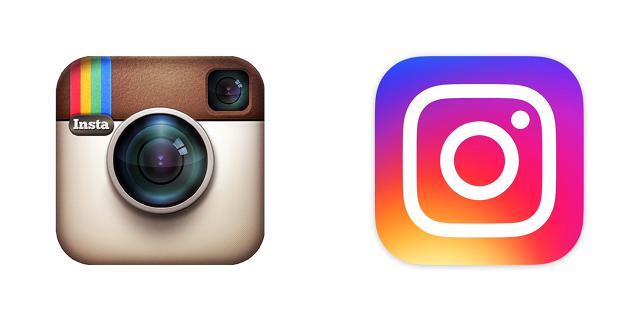 """Šeit var redzēt veco ar jauno... Autors: Pirmspēdējais cents KARSTI! Lietotne """"Instagram"""" izveidojis jaunu dizainu"""