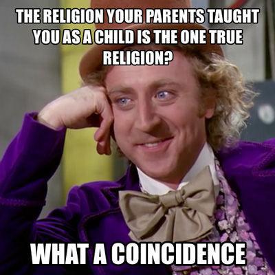 Tiescaroni tā reliģija kuru... Autors: Sarius Miris Džīns Vailders