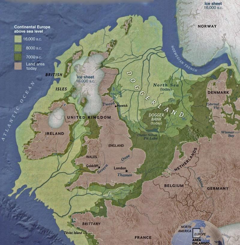Senlaikos nbspEiropas robežas... Autors: Raziels Kad Eiropa pazudīs zem ūdens