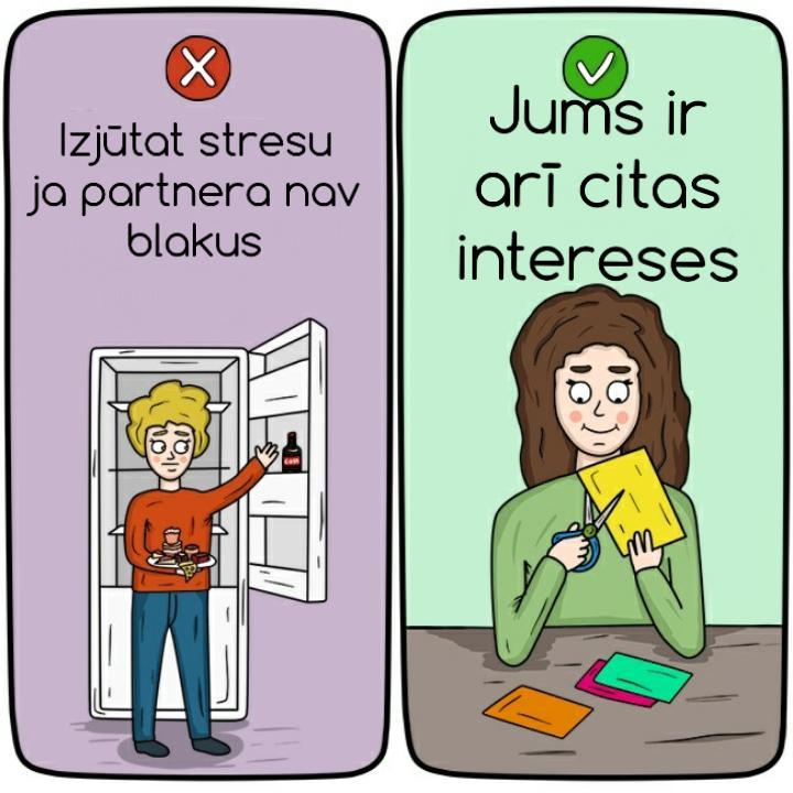 Autors: REDSUS 12 attēli, kas palīdzēs saprast, vai ar jūsu attiecībām viss ir kārtībā.