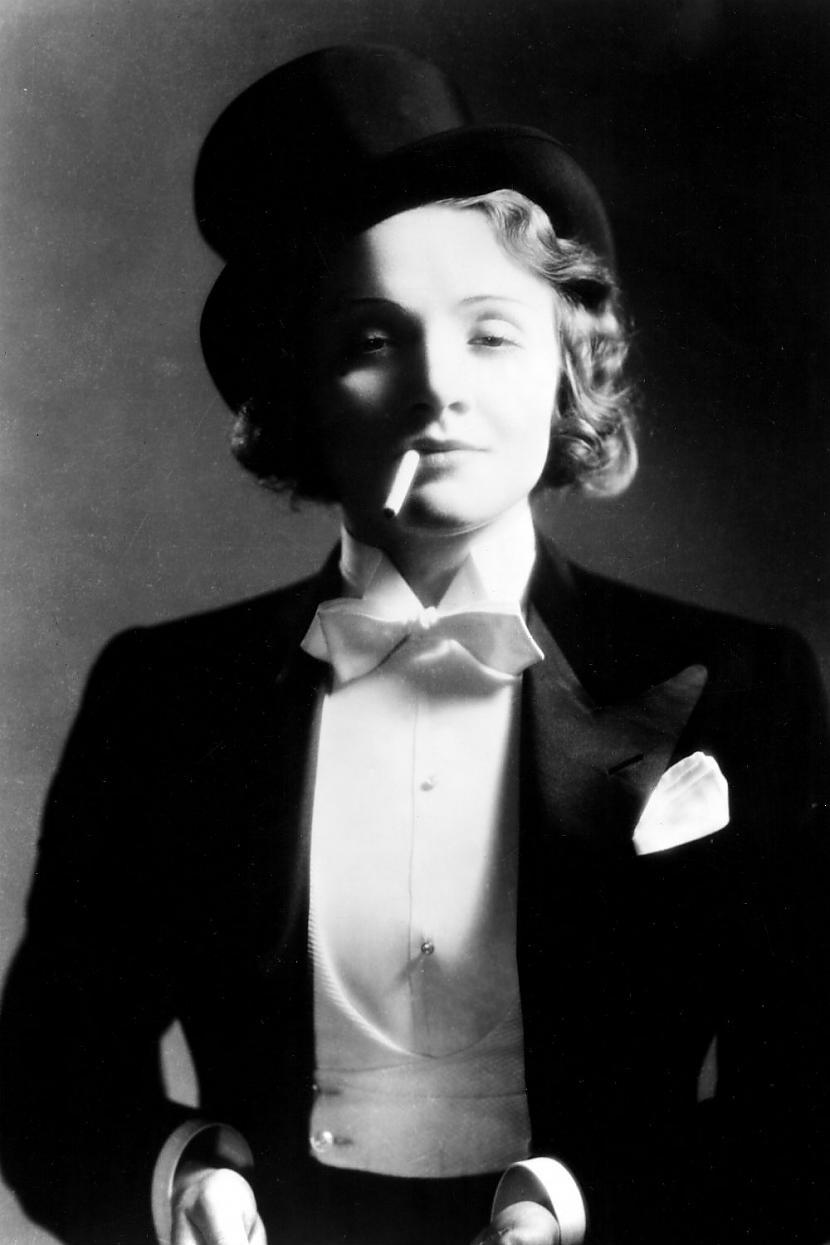Marlene DietrichVēl viena... Autors: Lestets Modes ikonas no 1930-tajiem