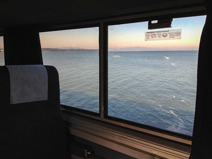 Vilciens savu braucienu sāk... Autors: bananchik Šķērsojam Ameriku ar vilcienu