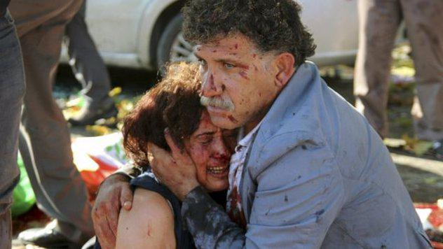 Ankaras sprādzieni Turcija... Autors: Plane Crash central 10 nežēlīgākie nesenie terorakti, par kuriem ziņas knapi ieminējās