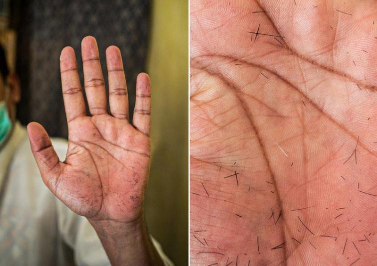 Frizieris Autors: matilde Fotogrāfs, kurš atrāda dažādu cilvēku profesijas caur viņu rokām