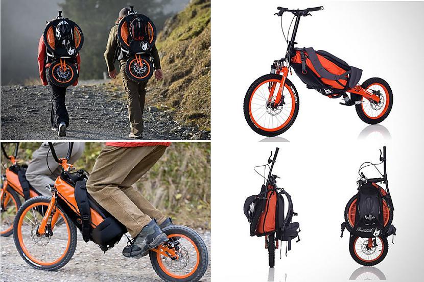 Bergmoumlnch Velosipēds ... Autors: Bauskas Motormuzejs Neparastie velosipēdi.