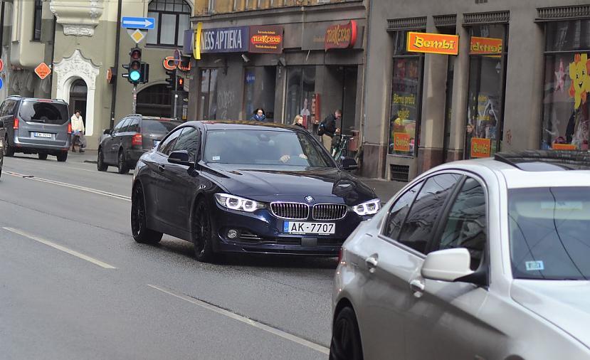 BMW Alpina B4 BInbspTurbo Autors: LGPZLV Dārgas mašīnas uz Latvijas ceļiem. 2017 #3