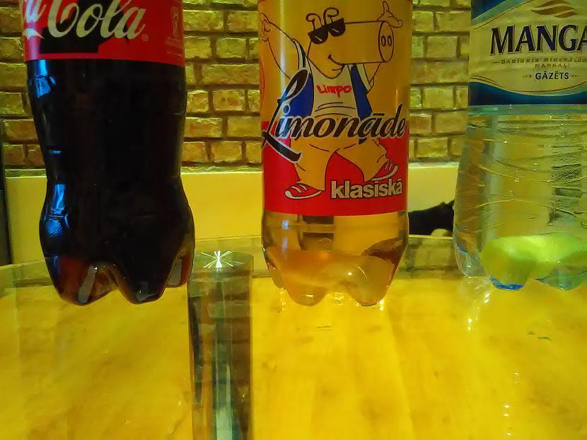 Pudelēs iekscaronā un gaidām... Autors: Tokiari  Cola pret Limpo un ūdeni. Kurš uzvar?