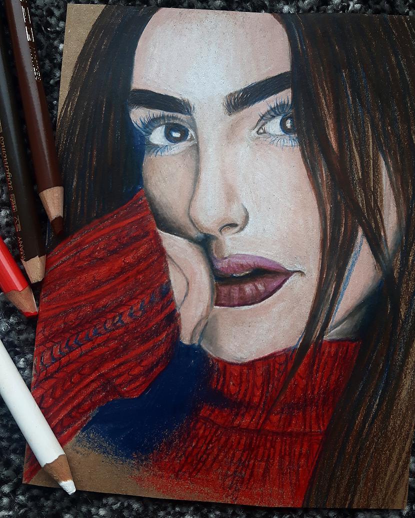 Varbūt kāds atpazīst šo... Autors: rakstiins Ko es zīmēju savos 15 gados