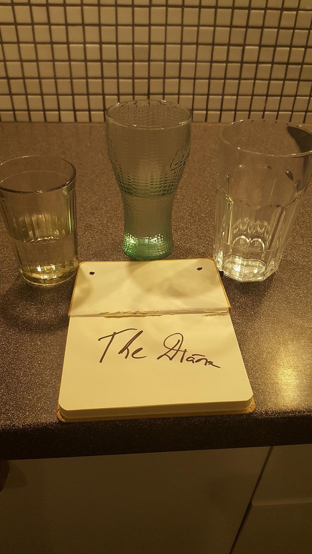 Autors: The Diāna FS 3 glāzes ar ūdeni