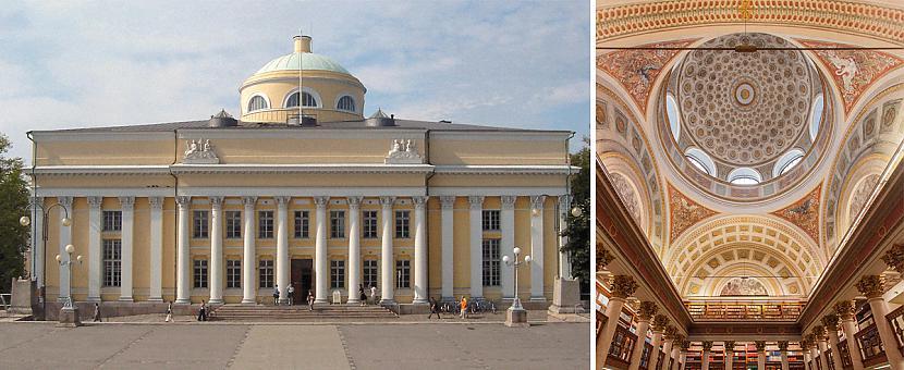 Somijas Nacionālā bibliotēka Autors: matilde 13 skaistākās bibliotēkas pasaulē, kas būtu jāapmeklē katram grāmatu mīlim
