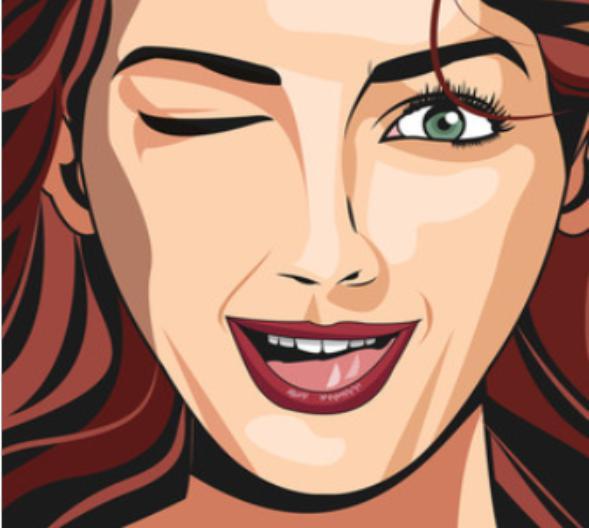 Sievietes acis mirkscaronķina... Autors: Fosilija Faktiņi par cilvēka ķermeni un tam saistītām lietām.