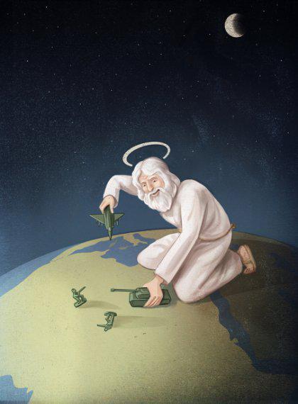 Karscaron Dieva vārdā Autors: 100 A 20 satīriskas ilustrācijas, kas precīzi ataino mūsdienu sabiedrību!