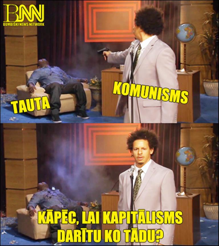 Autors: Bumbišķi News Network Kas ir komunisms!?