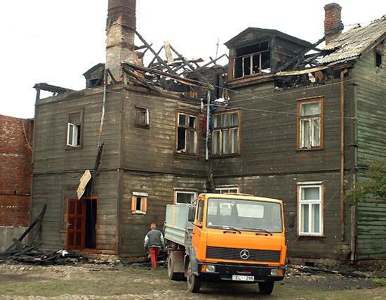 Ugunsgrēks Liepājā Upuru... Autors: Plane Crash central Traģēdijas, kas šokēja Latviju (3)
